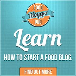 Learn how to start a food blog.  Food Blogger Pro teaches you the ropes of taking/editing food pics, gaining traffic, and monetizing your blog!