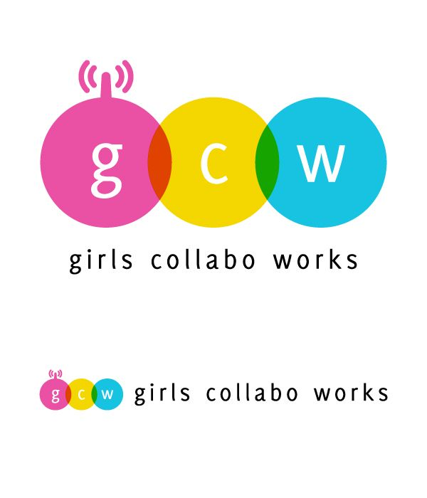 girls collabo works ロゴ