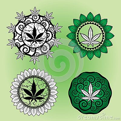 Marijuana Leaf Design Stamp  Design - Download From Over 28 Million High Quality Stock Photos, Images, Vectors. Sign up for FREE today. Image: 39160650