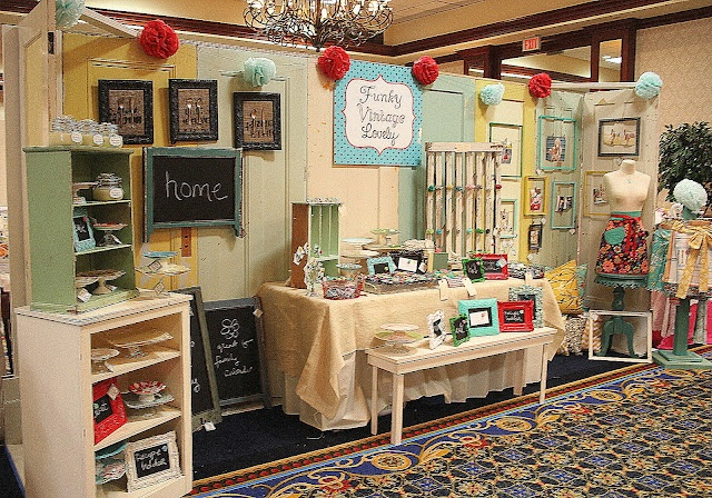 Funky Vintage Lovely: Fair Display, Booth Displays, Booth Ideas, Craft Booths, Craft Fairs, Display Ideas, Craft Show Booths, Fair Booth