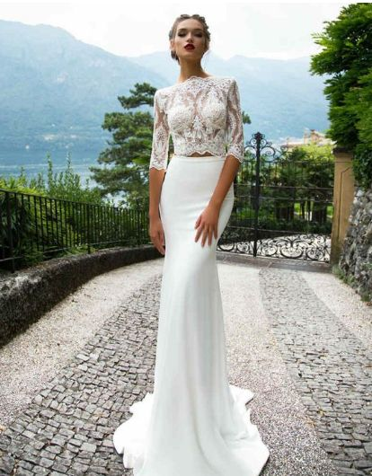 A two-piece for your wedding? 7 ways for brides to embrace the trend | Her.ie
