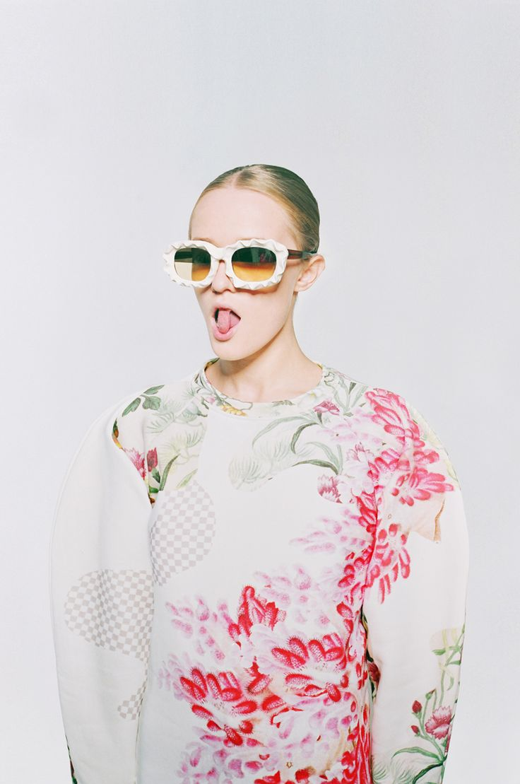 <p>We have posted about this very multi-talented and promising Ukrainian designer before. Now Masha Reva and SYNDICATE of Kiev collaborate on a new series: Botanical Layers.  These original prints wil