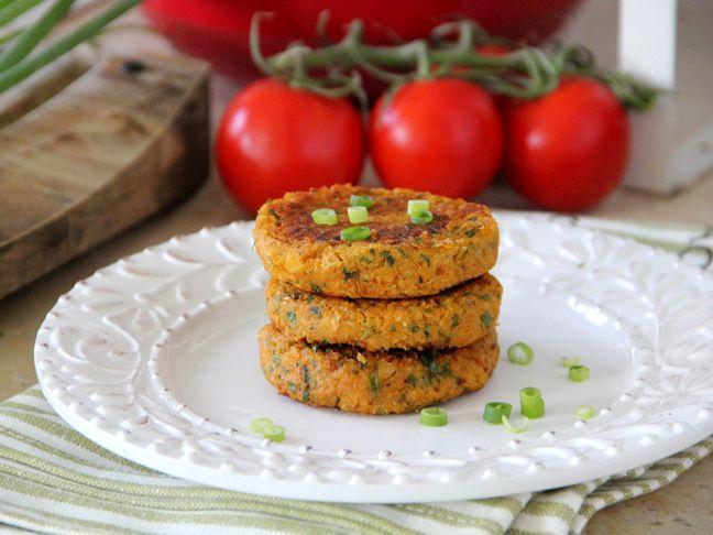 Sweet Potato Chickpea Patties