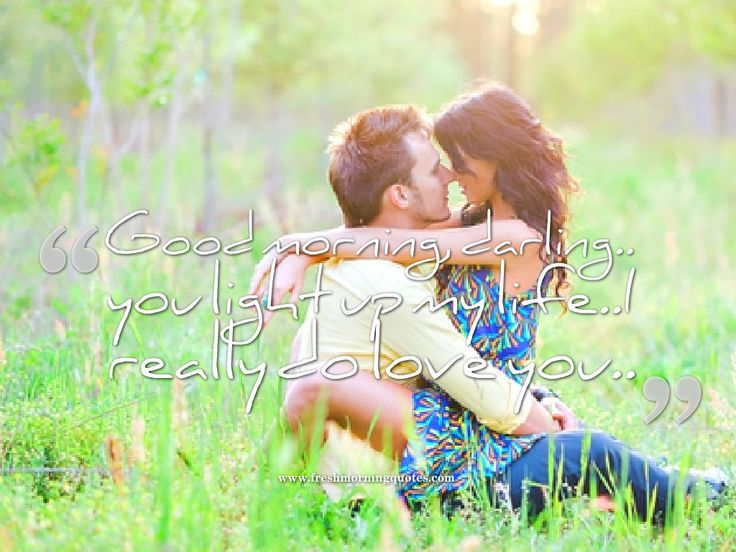 Good Morning Love Couple : Best images about good morning quotes on
