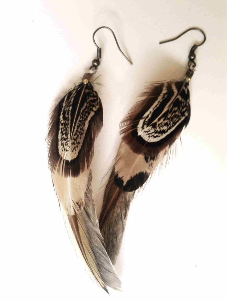 Feather earrings - these are my favourite :)
