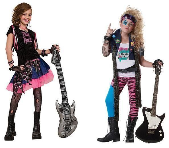 Become a rock star, DIY. #diy #rockstar #costume #halloween #dressup #rockon