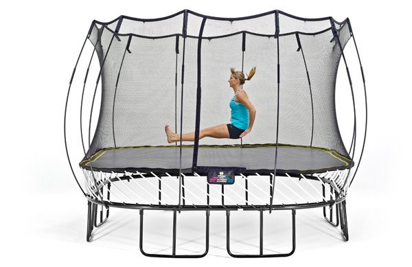 Trampoline workout: Tighten and tone your torso and lower body
