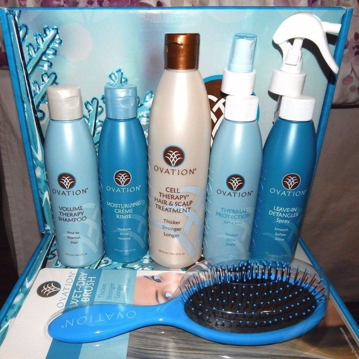 Ovation Hair Cell Therapy Holiday Kit Set Balance New Authentic Treatment | eBay