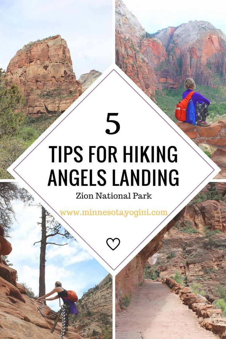5 Tips to Help you Conquer Angels Landing – Zion N…