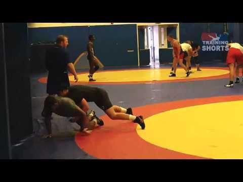 Workout - Jordan Burroughs and Taylor Massa - YouTube