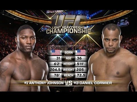 UFC (Ultimate Fighting Championship): UFC 206 Free Fight: Daniel Cormier vs Anthony Johnson