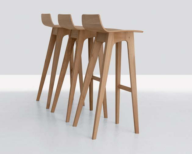 Furniture Design, The Morph Bar Stool By Formstelle Also Wooden Matter Then  Cute Designing Idea And Beautiful Modern Chair Design The Interesting ...