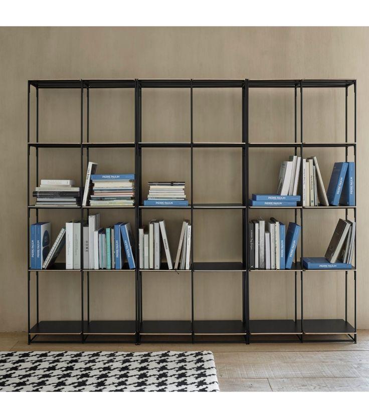 Ber ideen zu b cherschrank auf pinterest gr nderzeit landhausm be - Ligne roset bibliotheque ...