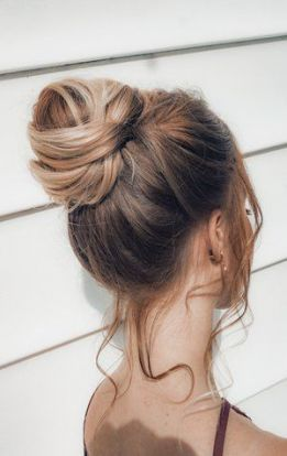 64 Ideas bridal hairstyles half up half down top knot for 2019