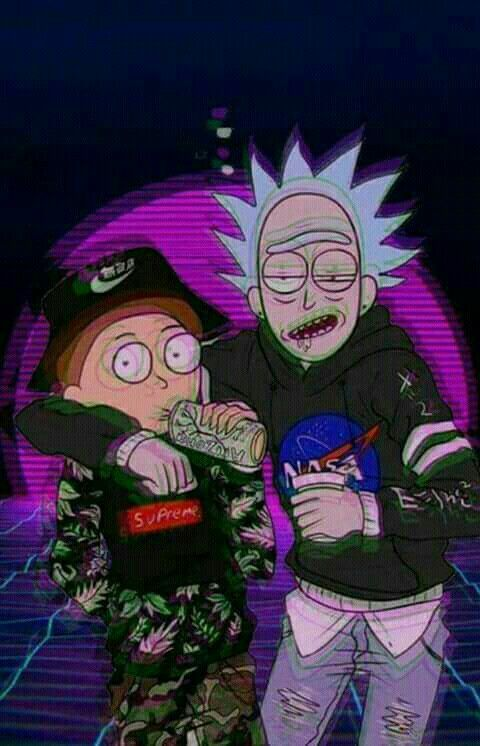 Louis Vuitton Wallpaper Iphone X Rick And Morty Sadboys Laughs Rick Morty Hypebeast