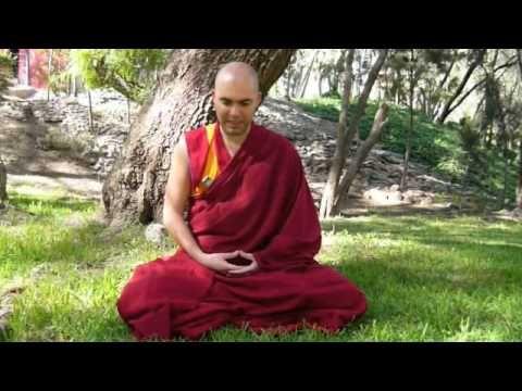 (1/2) Guía básica de meditación con el Ven. Lobsang Tonden