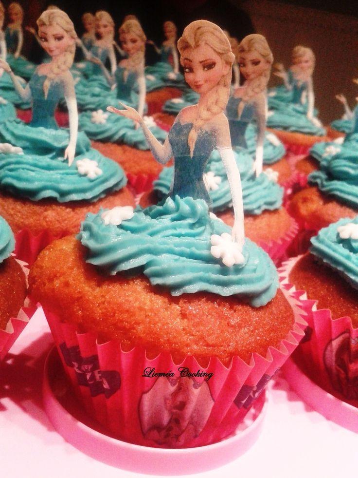 cupcake reine des neiges