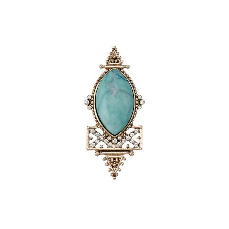 SAMANTHA WILLS - SIAM NIGHTS RING - MAYAN TURQUOISE