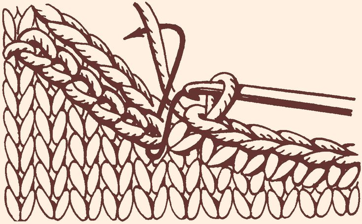 Как использовать тамбурный шов при обвязке горловины