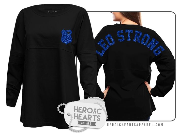 Heroic Hearts Apparel - LEO Strong Spirit Jersey,(http://www.heroicheartsapparel.com/leo-strong-spirit-jersey/) police, police wife, girlfriend, LEO wife, #leowife, #policewife