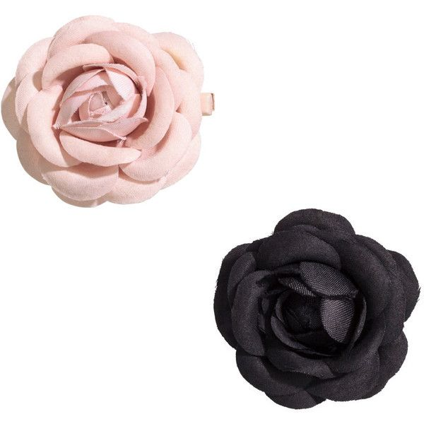 H&M 2-pack hair clips ($3.09) ❤ liked on Polyvore