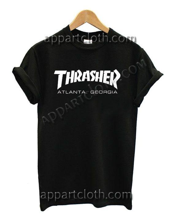 Thrasher Young Thug Atlanta Georgia T Shirt – Adult Unisex Size S-2XL