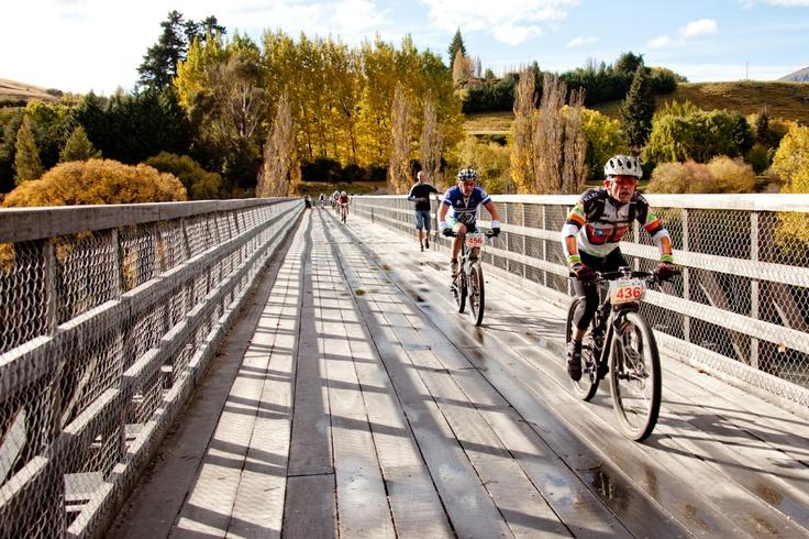 Biking in the Tour De Wakatipu