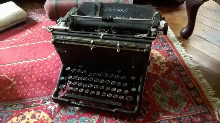 Machine À Écrire Underwood | eBay