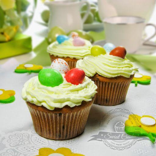 Babeczki Wielkanocne   Świat Ciasta