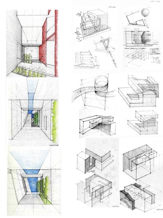 Architecture Design Drawing Techniques 222 best architectural sketches images on pinterest | drawings