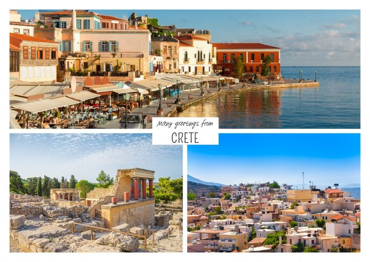 Insel Kreta | Urlaubsgrüße | Echte Postkarten online versenden | MyPostcard.com