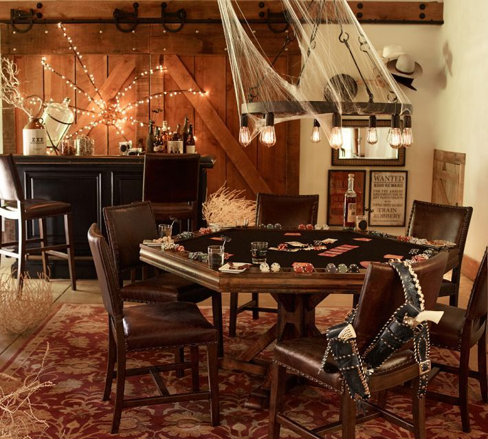 Create A Saloon Style Atmosphere For Halloween Add