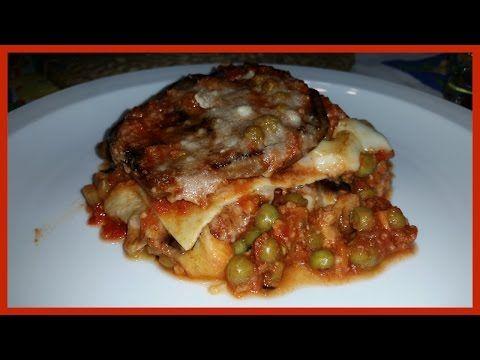 Lasagne al ragù fatte in casa con melanzane, provola e parmigiano - Ricette di Zio Roberto - YouTube