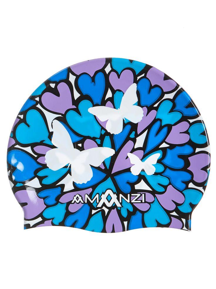 Butterfly Kisses Swim Cap