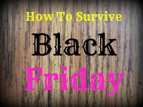 Organizing Life with Less: How To Survive Black Friday