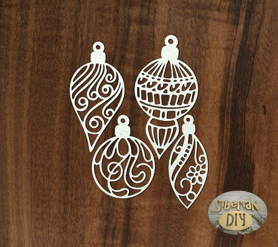 Laser Cut Chipboard Christmas toys 4