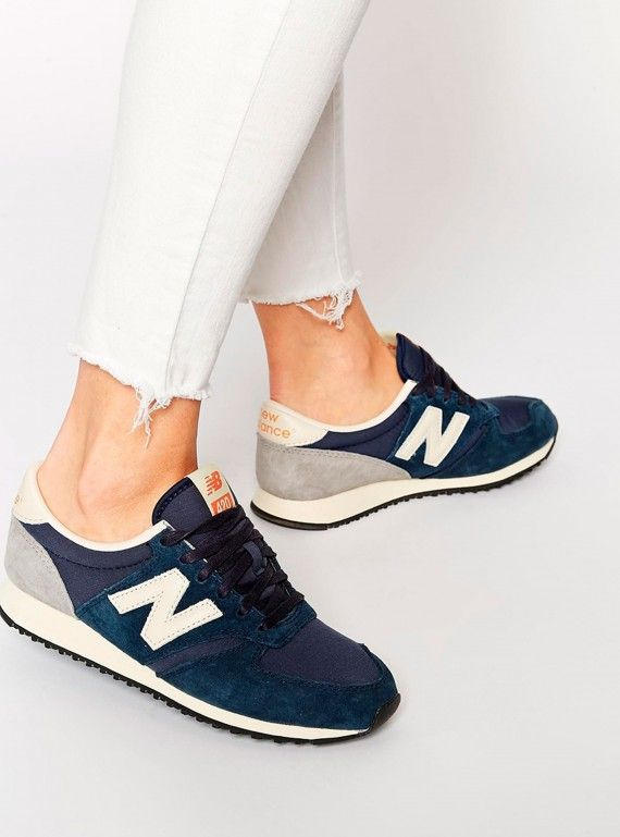 new balance womens trainers navy
