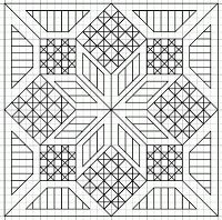Cross stitching - free blackwork patterns
