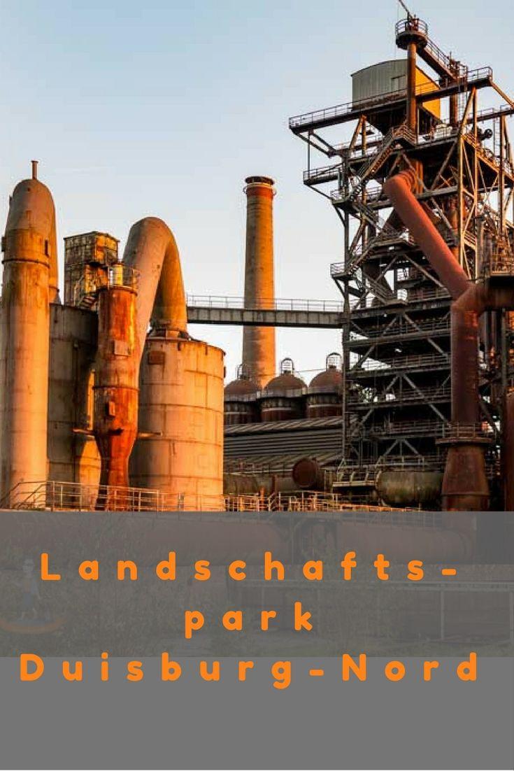 Landschaftspark Duisburg-Nord – Naherholung im Industriedenkmal Deutschland, NRW, Industriekultur, Ruhrgebiet