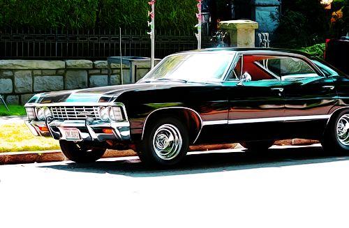 Supernatural 1967 Chevy Impala. I want one!!