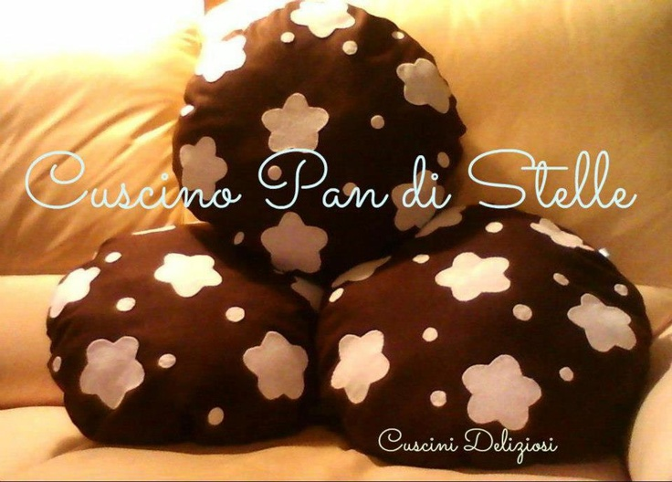 cuscino  biscotto Pan di Stelle cookie pillow