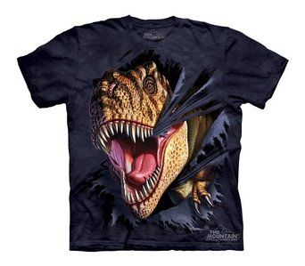 The Mountain T-Rex Tearing T-Shirt
