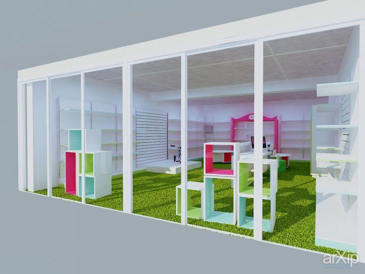 Магазин детских товаров mamazin.by ТЦ Скала: интерьер, магазин, супермаркет, минимализм, 30 - 50 м2, торговый зал #interiordesign #shop #supermarket #minimalism #30_50m2 #salesroom arXip.com