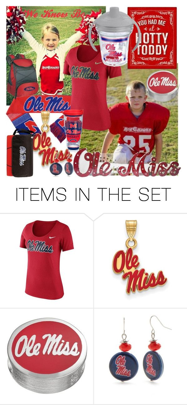"""""""Ole Miss"""" by ahapplet ❤ liked on Polyvore featuring art, football, ole and ahapplet"""