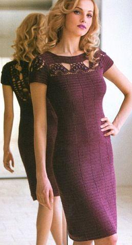 *Эксклюзивное платье крючком - Все в ажуре... (вязание крючком) - Страна Мам