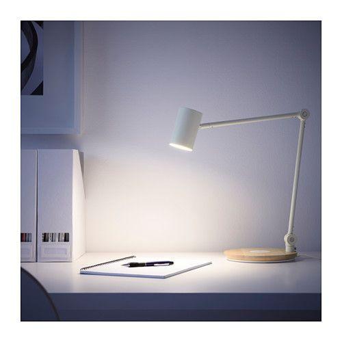 RIGGAD LEDワークランプ ワイヤレス充電機能付き  - IKEA