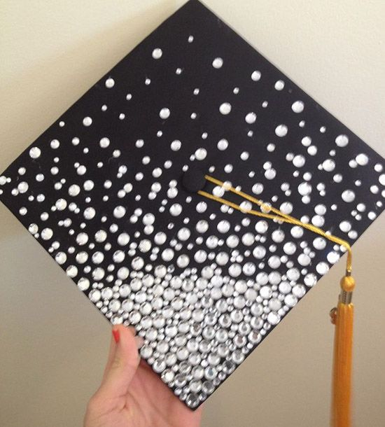Blinged Out Graduation Cap