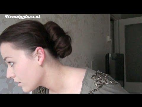 Hoe maak je een perfecte donut knot in je haar