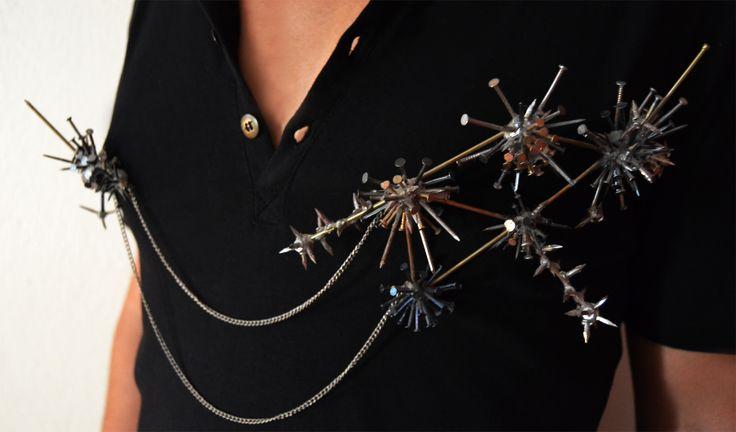 "Merve Ozdemir ""Chiodo"" Brooch:2011  Jewellery DESIGN"
