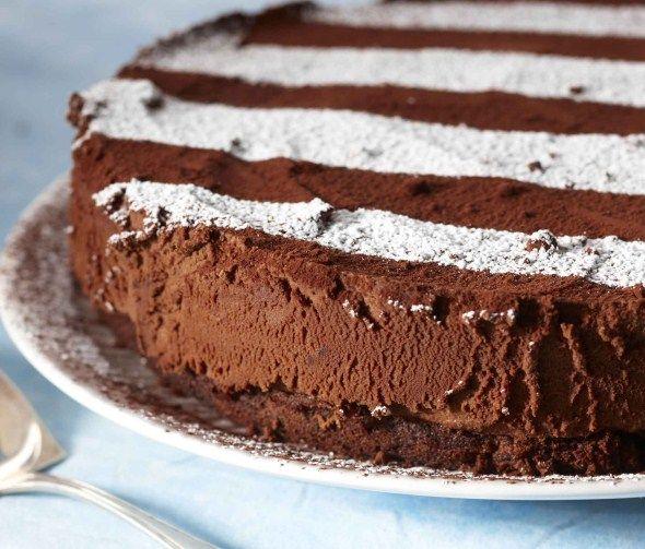 Suklaa-tryffelikakku, resepti – Ruoka.fi